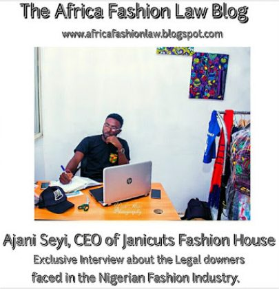 An Exclusive Interview about The Legal DOWNERS faced in the Nigeria Fashion Industry.