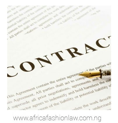 The Fashion Business Contracts…