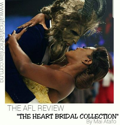 The AFL Review- Mai Atafo's Heart Bridal Collection