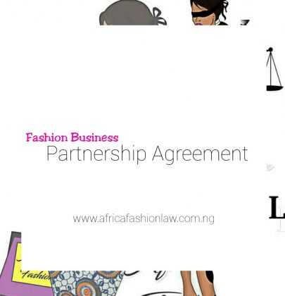 Fashion Business Partnership Agreement