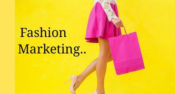 FASHION MARKETING- (What makes you go shopping? )