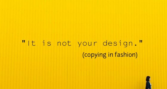 Copying in fashion