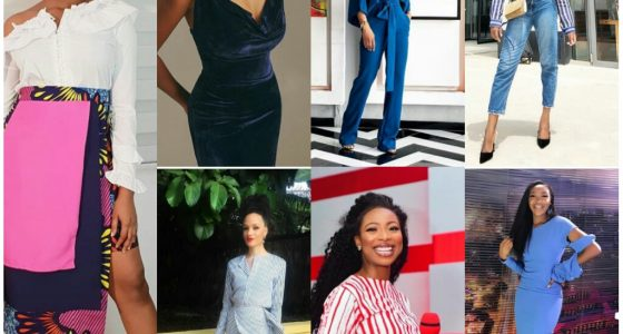 Style Inspiration( female media style icons in Nigeria)
